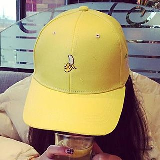 Pompabee - Fruit Embroidered Cap