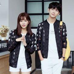 We Belong - Couple Matching Zip Light Jacket