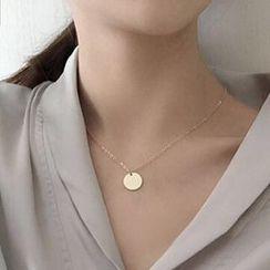 Calypso - Circle Pendant Necklace