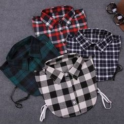 Giyomi - Plaid Decorative Collar