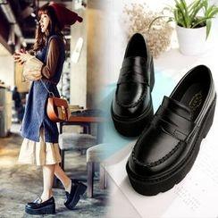 Anran - Platform Loafers