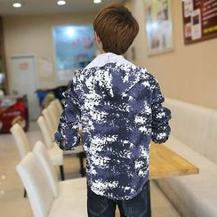 Kunji - Printed Hooded Jacket