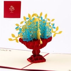 ByHeart - Flower 3D Greeting Card