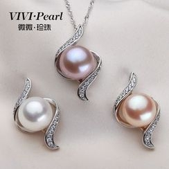 ViVi Pearl - Sterling Silver Freshwater Pearl Necklace