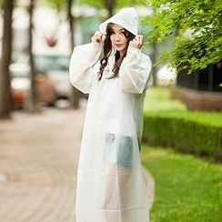 Show Home - Hooded Raincoat