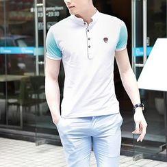 Best Gang - Color-Block Polo Shirt