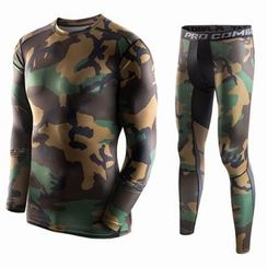 ORCA - Camouflage Sports Leggings