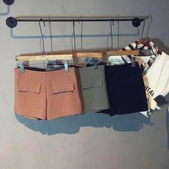 Glovon - Dual Pocket Shorts