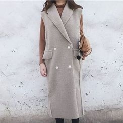 Rollis - Woolen Long Vest