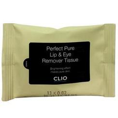 CLIO - Perfect Pure Lip & Eye Remover Tissue