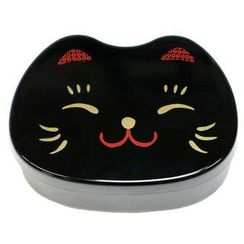 Hakoya - Hakoya Face Lunch Box Black Cat