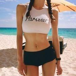 Roseate - 字母坦基尼泳衣