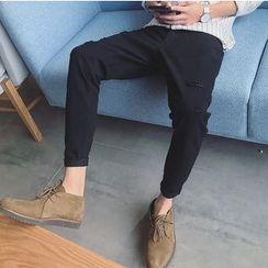 优凡士品 - 纯色哈伦裤