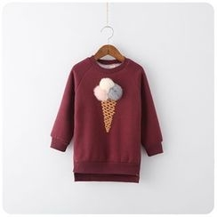 Rakkaus - Kids Fleece-Lined Paneled Pullover