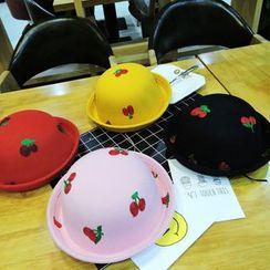 華娟 - 童裝櫻桃刺繡禮帽
