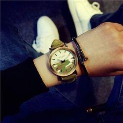 HM - 迷彩帶手錶