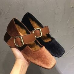 Anran - Chunky Heel Mary Jane Shoes