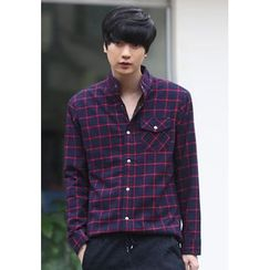 PLAYS - Long-Sleeve Check Shirt