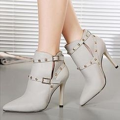 Mancienne - Studded Boots