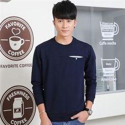 SOLER - Plain Long-Sleeve Sweatshirt