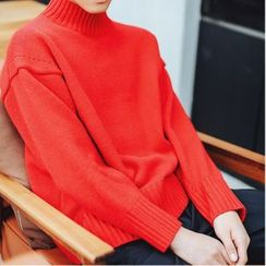 CooLook - Mock Neck Sweater