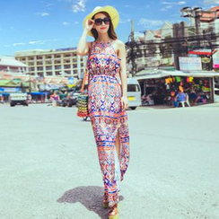 chic n' fab - Patterned Maxi Sundress