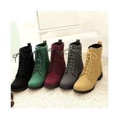 Bootsling - Lace-Up Short Boots