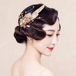 Neostar - Bridal Feather Hair Clip