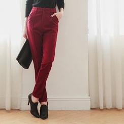 Tokyo Fashion - Woolen Slim Fit Pants