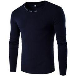Fireon - Lettering Long-Sleeve T-Shirt