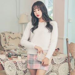 Ashlee - Furry Sweater
