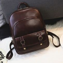 Bibiba - Faux Leather Backpack