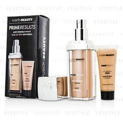 Fusion Beauty - Prime Results Anti Wrinkle Set: 1x Anti Wrinkle Primer + 1x Mini Anit Wrinkle Primer