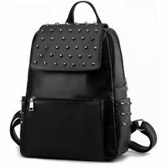 miim - Studded Flap Backpack