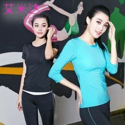AIMIDA - Set: Yoga T-Shirt + Pants
