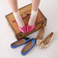 幸福鞋坊 - 閃亮平跟鞋