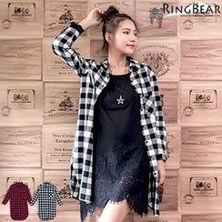 RingBear - Long Sleeve Checked Shirt