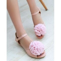 Freesia - Flower Ankle Strap Sandals