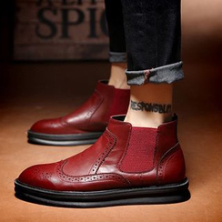 NOVO - Brogue Ankle Boots