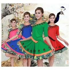 AUM - 舞蹈套裝: 上衣 + 短裙