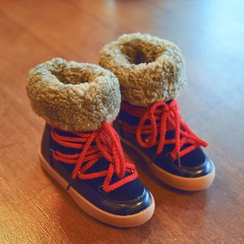 BOOM Kids - Kids Fleece Snow Boots