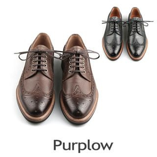 Purplow - Wing-Tip Oxfords