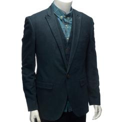 YesStyle M - Peak Lapel Single-Button Jacket