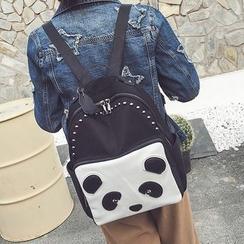 Velocia - Panda Applique Backpack