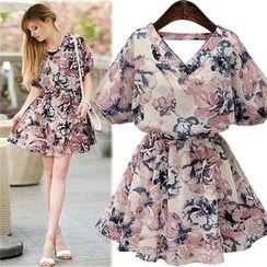 Chika - Floral Dress