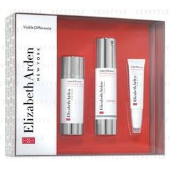 Elizabeth Arden - Visible Difference Set: Balancing Lotion SPF15 50ml + Serum 30ml + Eye Gel 15ml