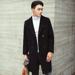Zeesebon - 双排扣呢子大衣
