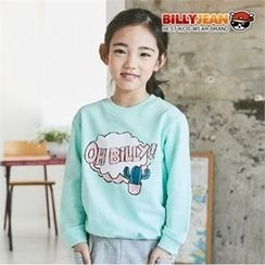 BILLY JEAN - Girls Crew-Neck Graphic Sweatshirt