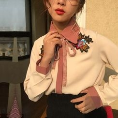 THESUMEY - Embroidered Blouse