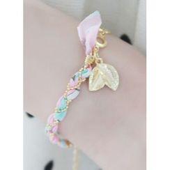 kitsch island - Leaf-Charm Chain Bracelet